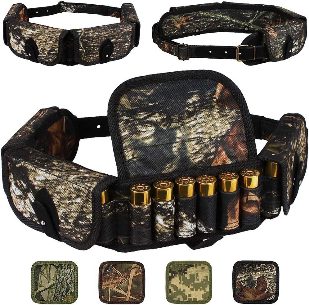 Tourbon Tactical Shotgun Cartridge Belt Shell Holder Ammo Sling 25 Round Vintage