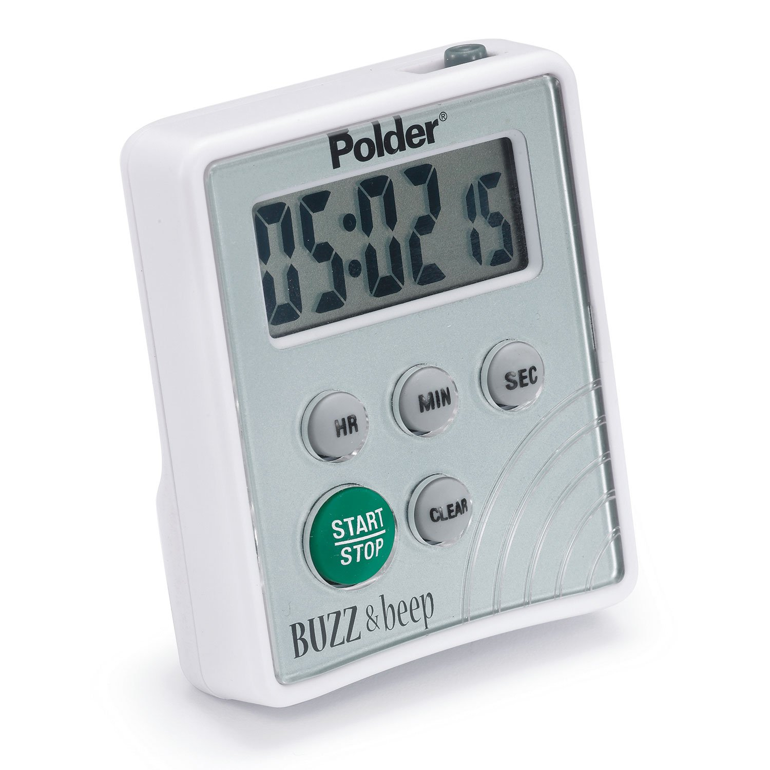 Amazon.com: Polder TMR-2125 Digital Buzz and Beep Timer with LCD ...