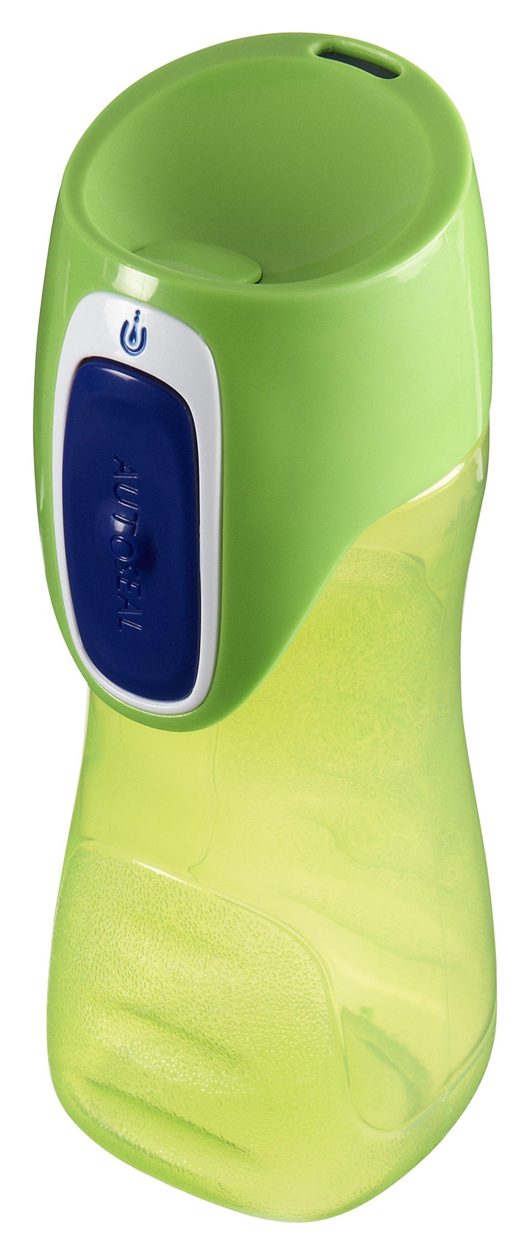Contigo AUTOSEAL Trekker Kids Water Bottles, 14 oz, Granny Smith & Nautical, 2-Pack by Contigo (Image #6)