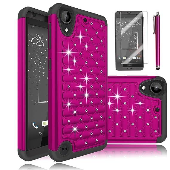 86a5923194c HTC Desire 530 funda, HTC Desire 630 caso, ectm híbrida de doble capa con