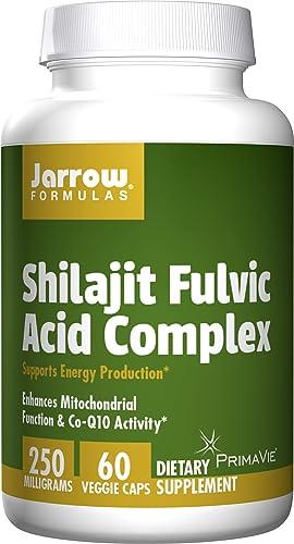 Jarrow Formulas Shilajit Fulvic Acid Complex 250 Mg, Supports Energy Production, 60 Veggie Caps