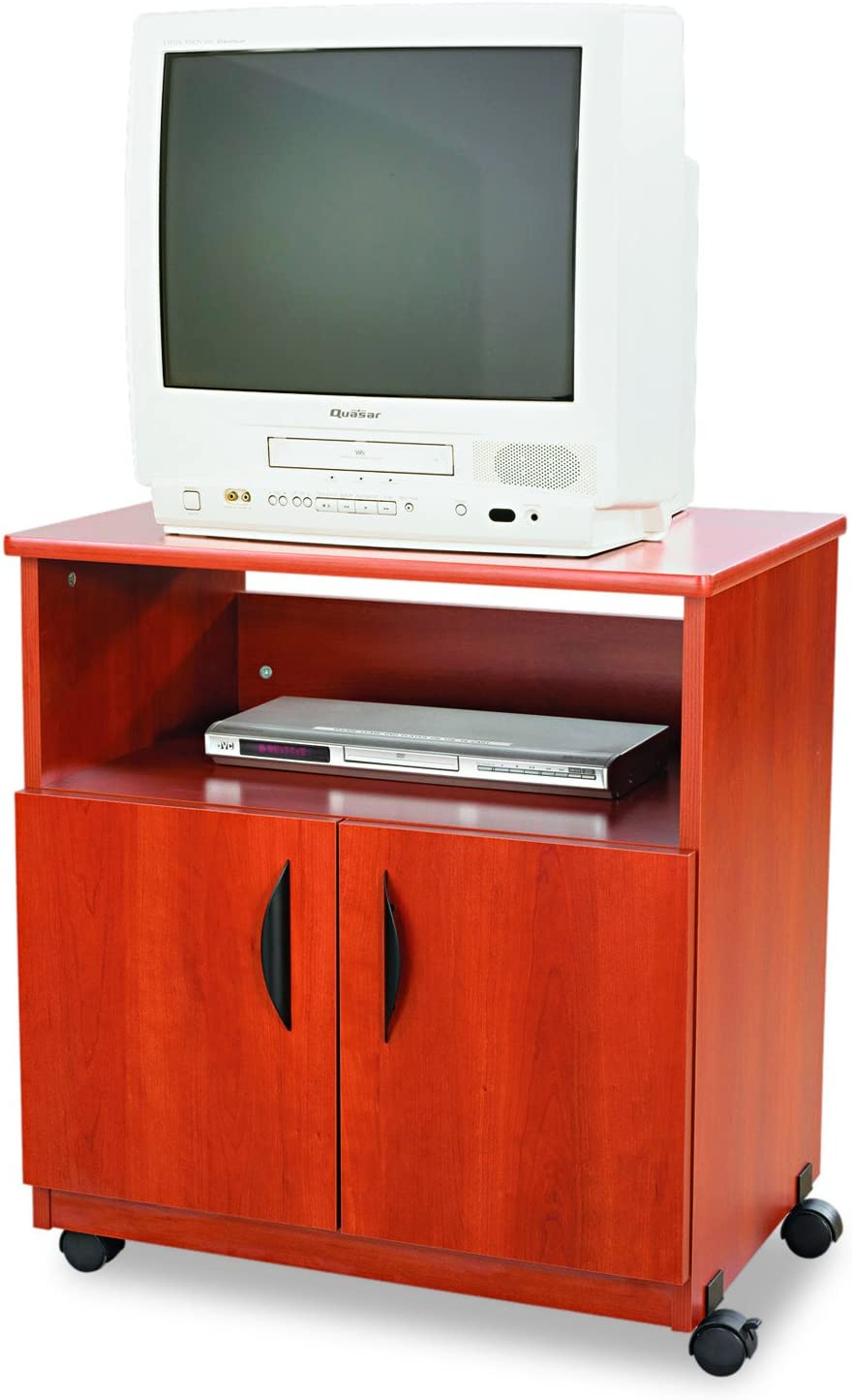 Safco Products Mobile Machine Stand, Cherry