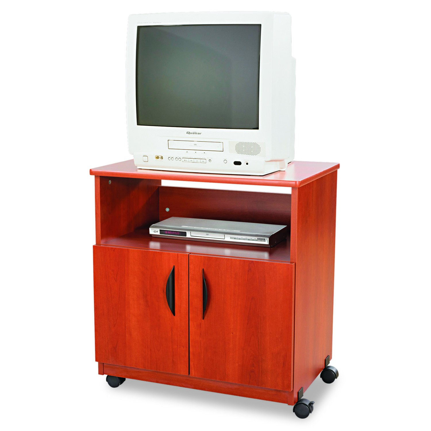 Safco Products Mobile Machine Stand, Cherry by Safco