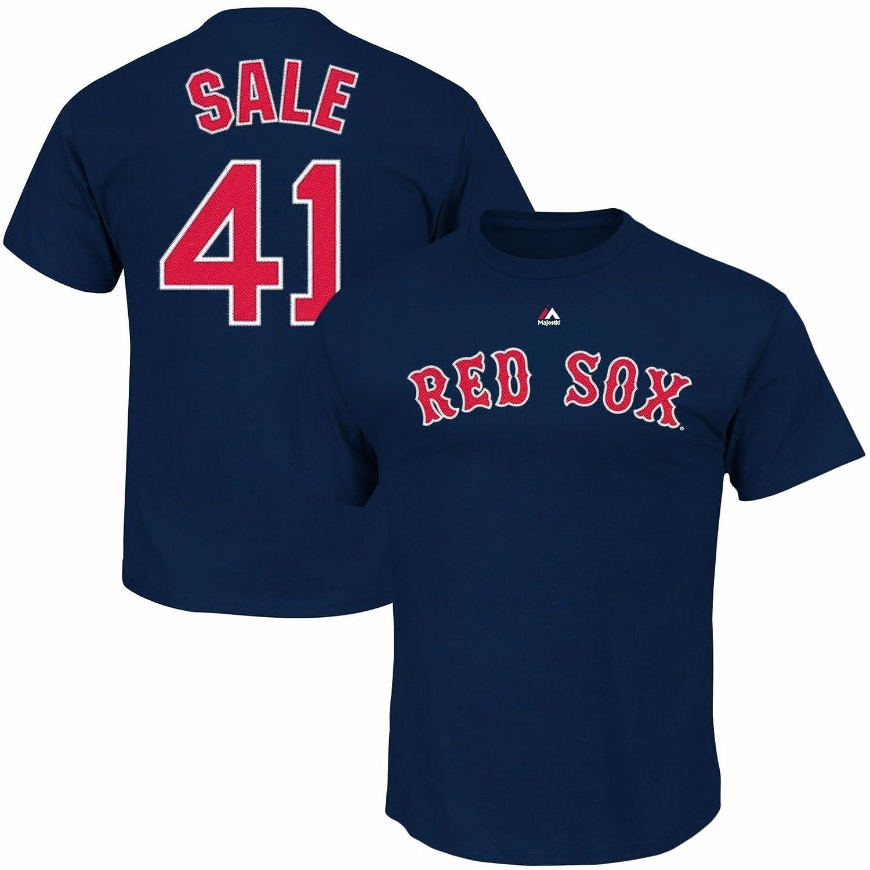 【お年玉セール特価】 Chris Sale – # 41ボストンレッドソックスマジェスティックユースPlayer Name & Sale Number B06WWP46TX Tシャツ – ネイビー( XL 18 ) B06WWP46TX, テラドマリマチ:e0d5e066 --- a0267596.xsph.ru