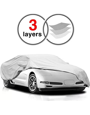 KAKIT Corvette C5 Cover for C5 1996-2004, 3 Layers All Weather Waterproof Windproof