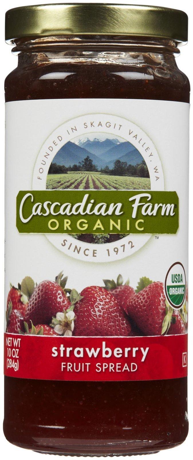 Cascadian Farm Organic Fruit Spread - Strawberry - 10 oz