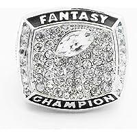 WANZIJING Fantasy Voetbal Ring, 2017 Fantasie Voetbal Kampioen Ringen Sport Fans Ring Collectie voor Vriendje Gift Maat…