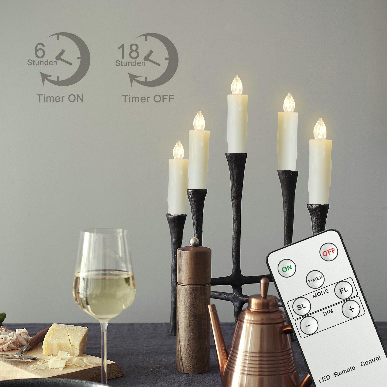 71UaTo%2BFuYL._SL1500_ Elegantes Elektrische Kerzen Mit Fernbedienung Dekorationen