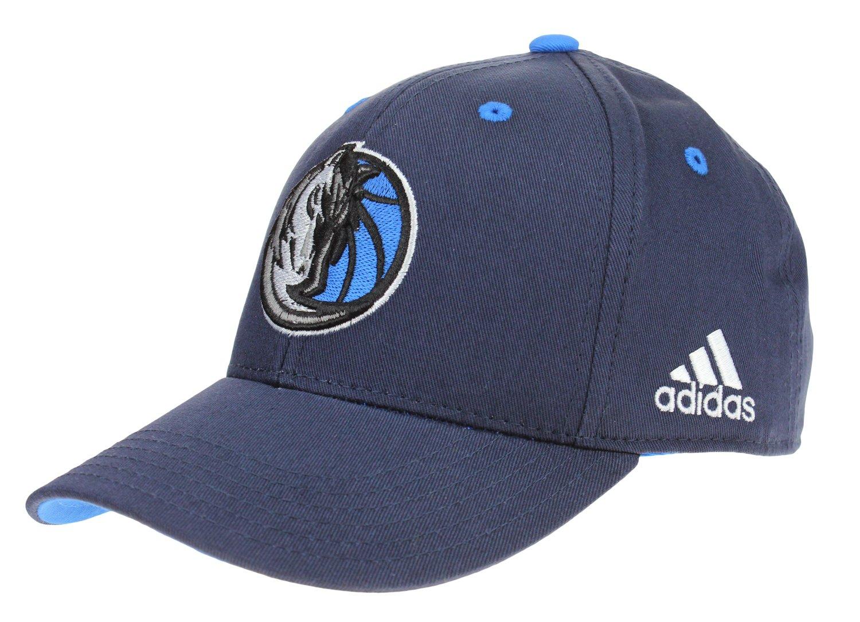 3e07cad8ac424 ... order amazon adidas nba youths dallas mavericks basic adjustable strap cap  navy one size sports outdoors