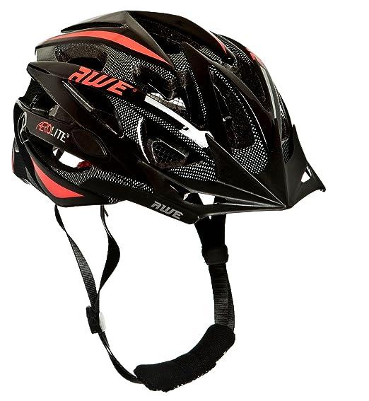 123 opinioni per AWE AeroLite Casco bicicletta, 58-61 cm, colore nero/rosso