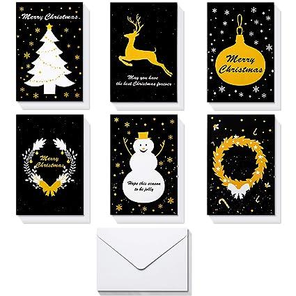 christmas greeting cardshblife 36 handmade holiday xmas cards envelopes for xmasnew