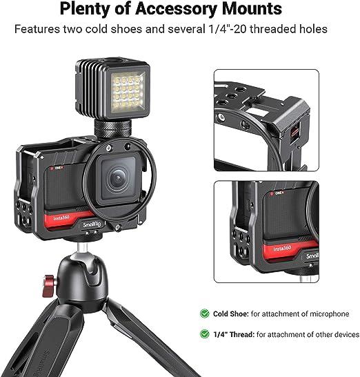 SMALLRIG Vlogging Metall Cage Kfig mit 52mm Filteradapter ...