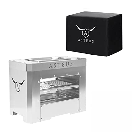 asteus ks0600 asteus steaker eléctrico de infrarrojos Barbacoa con campana