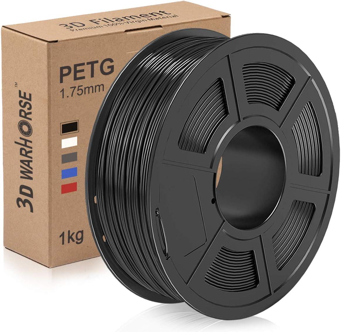 2,2lbs Arancione Adatta alla Maggior Parte delle Stampanti FDM Precisione Dimensionale +//- 0,02mm SUNLU Filamento PETG 1,75mm con Aggiornamento SUNLU Bobina da 1kg