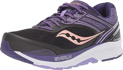 Saucony - Zapatillas de Running para Mujer, Echelon 7 (S10468-37), Color Negro y Morado: Amazon.es: Zapatos y complementos