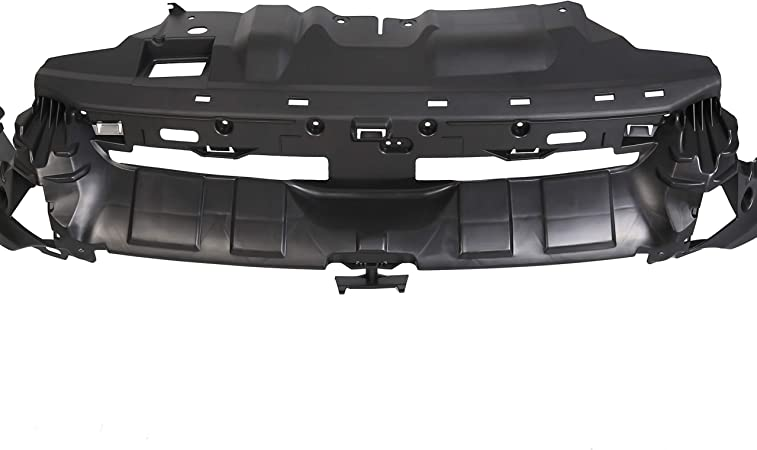 For Ford Focus 2015-2018 2016 2017 Front Bumper Mounting Cover Plastic Support Bracket Replacement FO1041118 Black