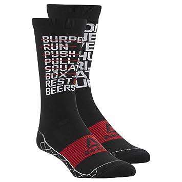 Reebok COOLMAX Cushioned Crew Socks - Calze Allenamento Uomo - Calcetines de entrenamiento para hombre (37-39): Amazon.es: Deportes y aire libre