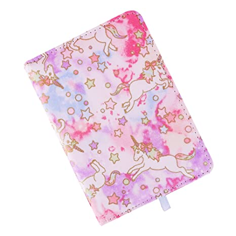 Amazon.com : Winzige A6 Cloth Cover Unicorn Planner Agenda ...