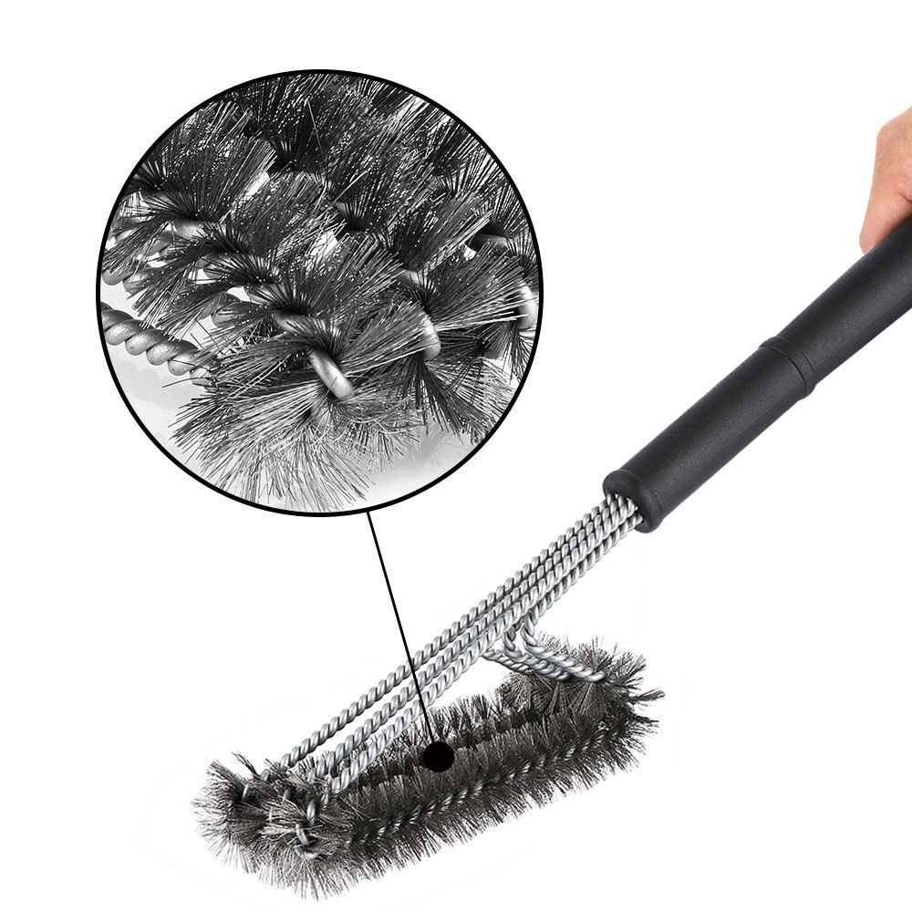 Amazon.com : Shop-24s Grill Brush BBQ Cleaning Tool Woven Wire ...