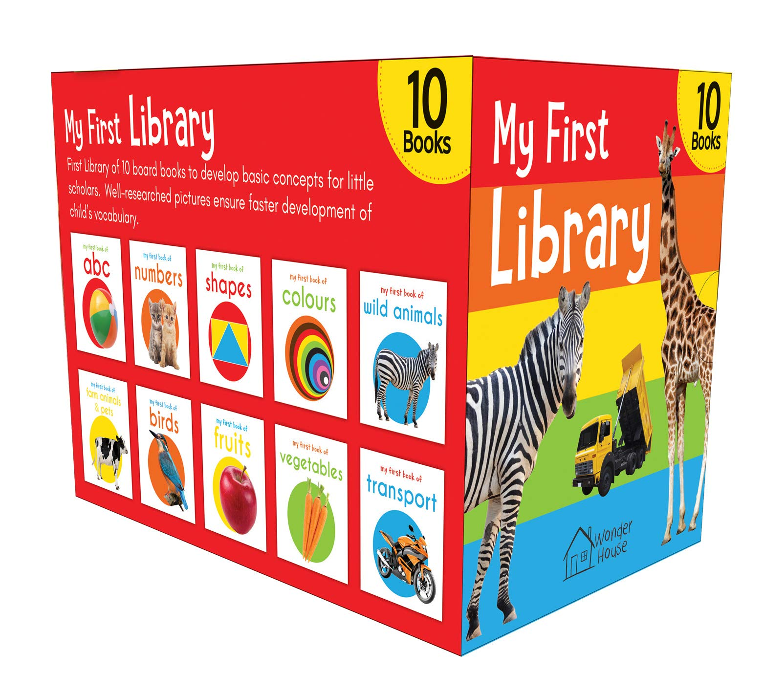 My First Library: A Collection of Books for Kids Learning