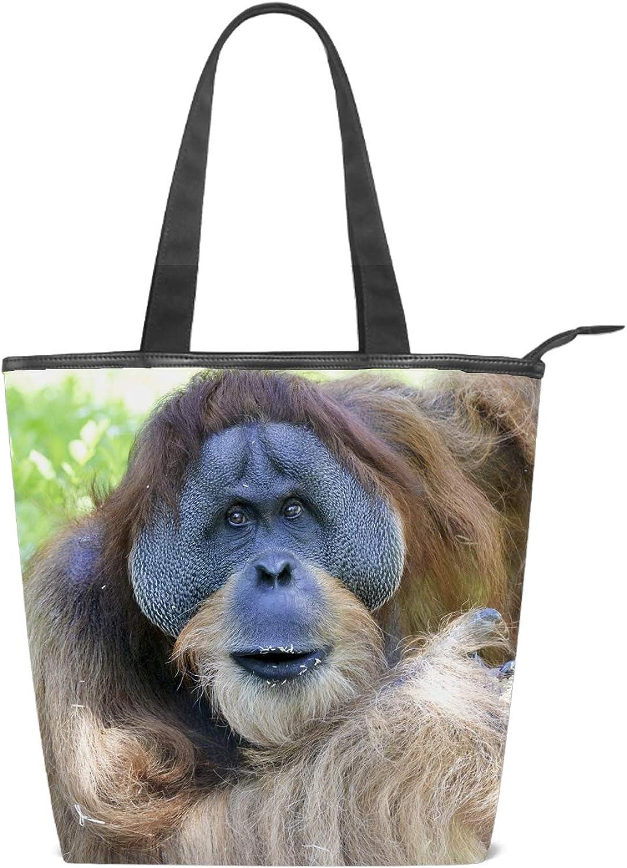 Canvas Tote Bag Tree Forest Handbag Shoulder Bag Or Crossbody Bags Purses For Men And Women