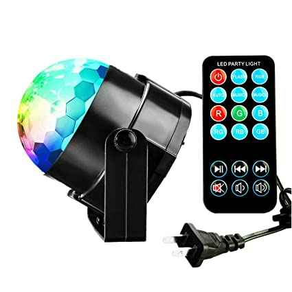 Outdoor Disco Lights Amazon ttf 3w led disco lights with sound activateddj stage ttf 3w led disco lights with sound activateddj stage lights for xmas party workwithnaturefo