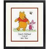 Winnie /& Friends|PN-0014846 VERVACO|Counted Cross Stitch Kit Birth Record