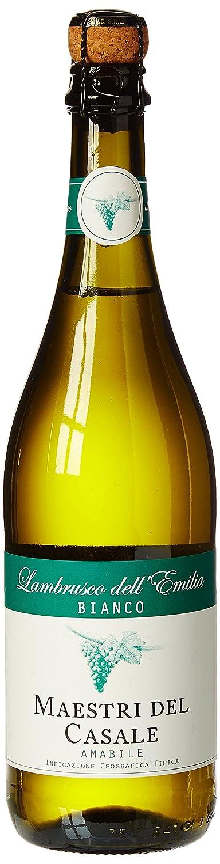 Lambrusco dell Emilia Vino blanco ligeramente espumoso, 8º, 75 cl: Amazon.es: Alimentación y bebidas