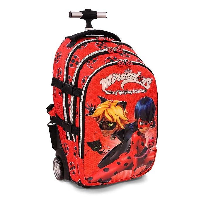 efc05c856d KARACTERMANIA Ladybug Defenders Zaino Casual, 48 cm, 28 Litri, Rosso:  Amazon.it: Abbigliamento