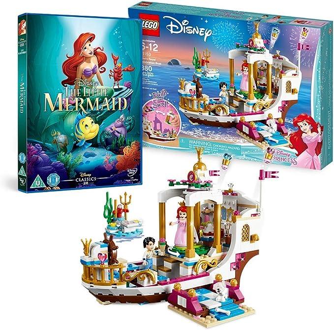 LEGO Disney Ariel's Royal Celebration Boat Set 41153 Brand New Sealed