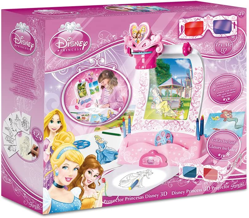 Disney Princesas Proyector 3D (Famosa 700009496): Amazon.es ...