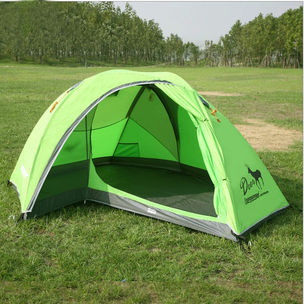 Zelt Outdoor Doppel Doppel Regensturm Blizzard Ultraleicht Tragbare Outdoor Camping Zelt Aluminium Rod Camping Bergsteigen Zelt