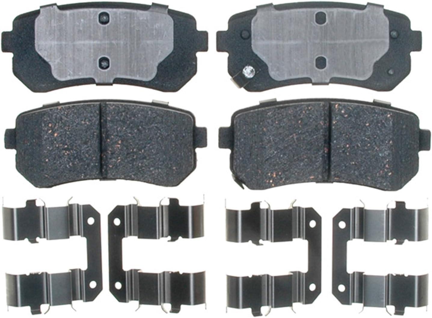 For Kia Rondo Hyundai Tucson Front Disc Brake Pad Set Bosch QuietCast BP1295