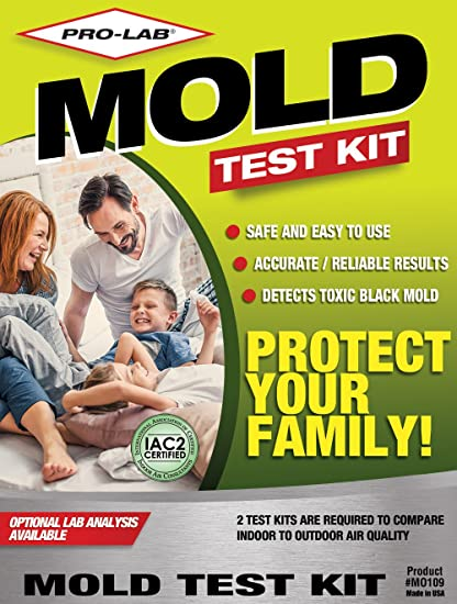 Amazon pro lab mo109 mold do it yourself test kit home improvement pro lab mo109 mold do it yourself test kit solutioingenieria Choice Image