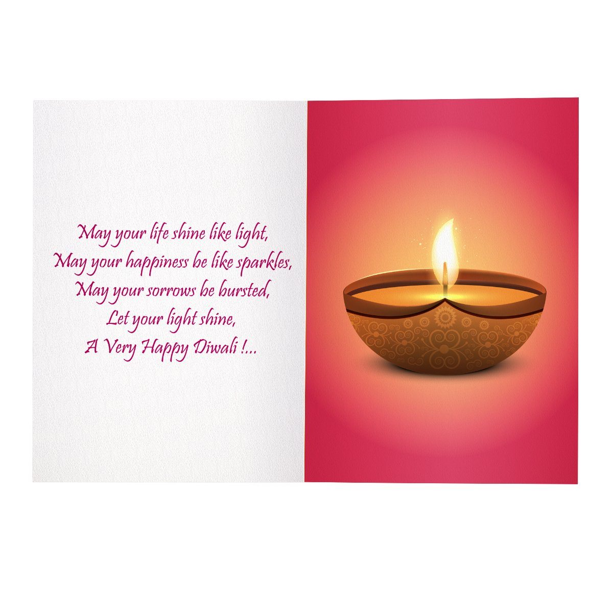 Kaarti happy diwali greeting card sk0519 amazon office products kristyandbryce Image collections