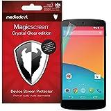 Google Nexus 5 (2013) Screen Protector, MediaDevil Magicscreen Matte Clear (Anti-Glare) Edition - (2 x Protectors)