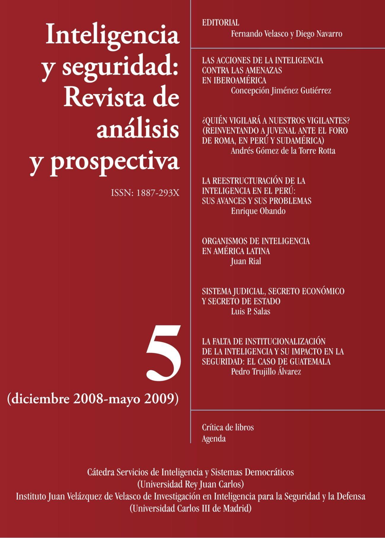 Inteligencia y seguridad: Revista de analisis y prospectiva ...