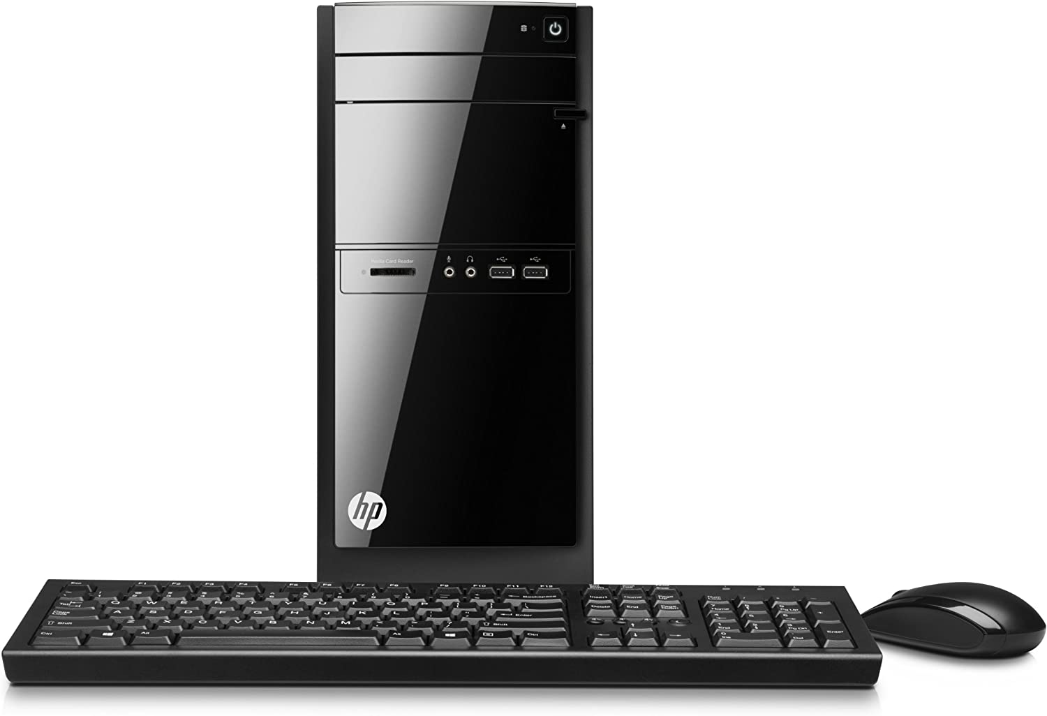 HP 110-420 Desktop (Core i3-3240T, 4GB RAM, 500GB HD, Windows 8.1) (Discontinued by Manufacturer)