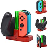 FASTSNAIL Controller Charger for Nintendo Switch, Charging Dock Stand Station for Switch Joy-con and Pro Controller with…