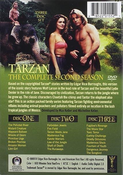 Tarzan: Complete Second Season 3 Dvd Edizione: Stati Uniti ...
