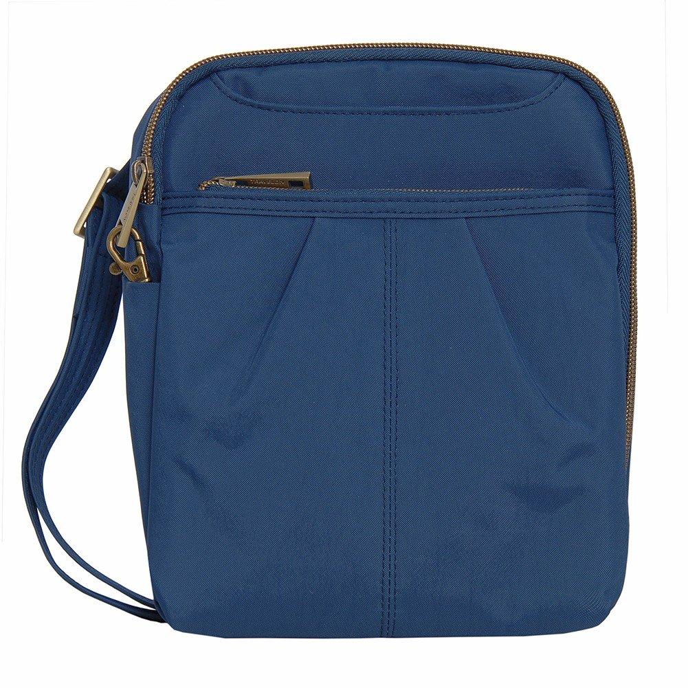 Travelon Anti-Theft Signature Slim Day Bag, Cobalt, One Size 42949 340