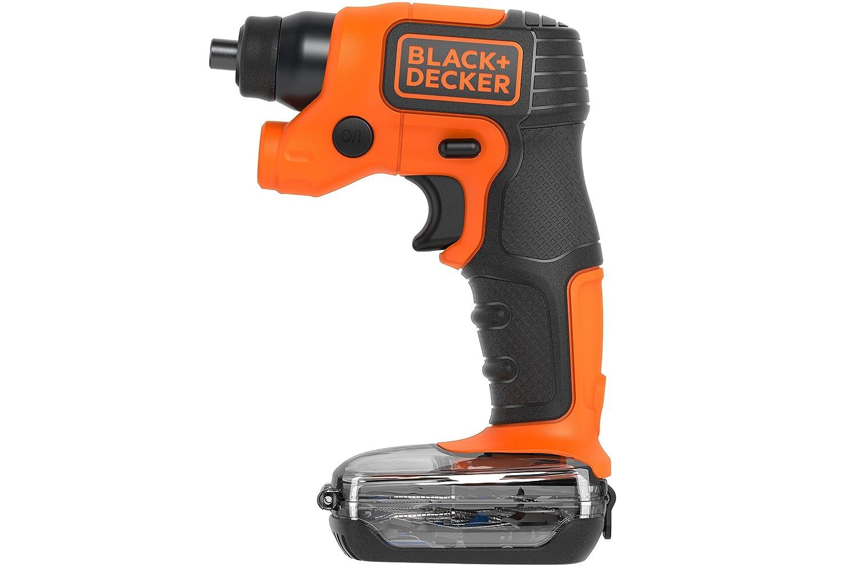 Black+Decker BDCSFS30C-QW Atornillador con Batería de Litio, 5 NM ...