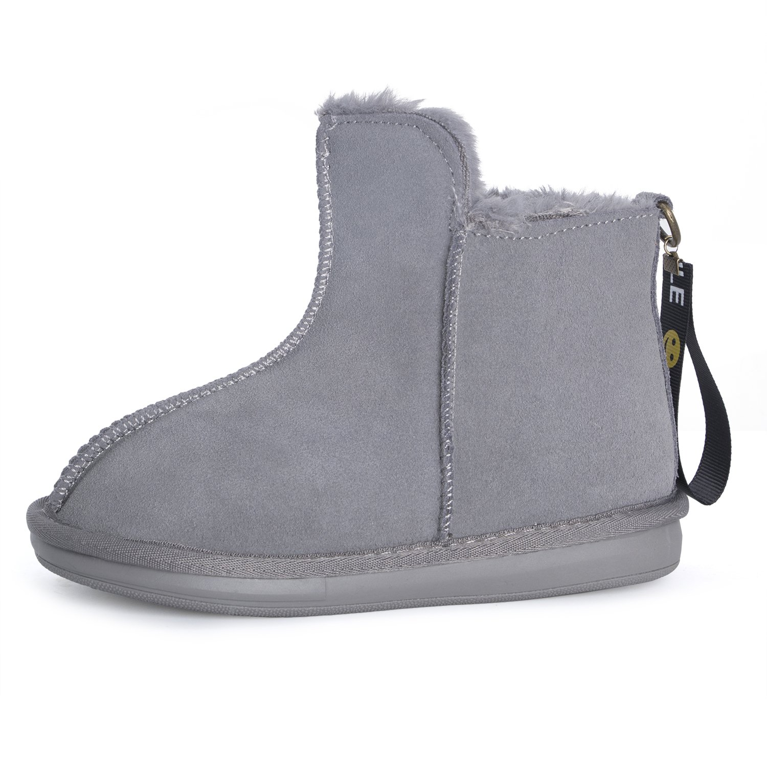 DARONGFENG Toddler Little Kid Winter Shoes Girls Boys Warm Outdoor Ankle Boots