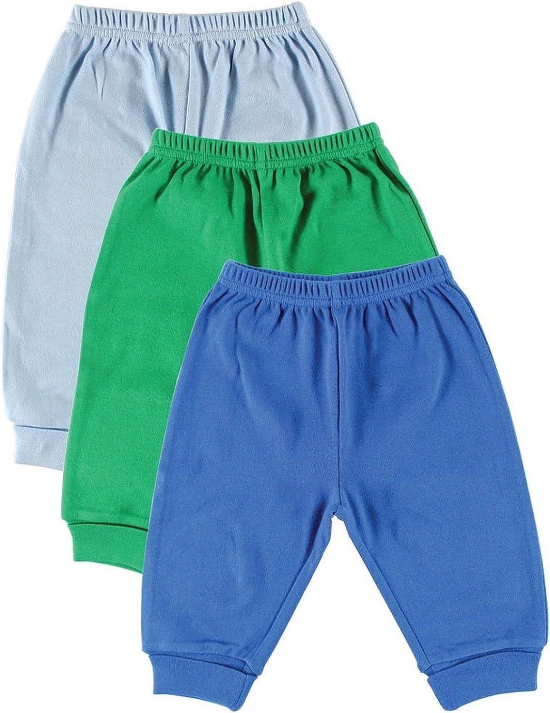 Blue Luvable Friends 3-Pack Baby Pants