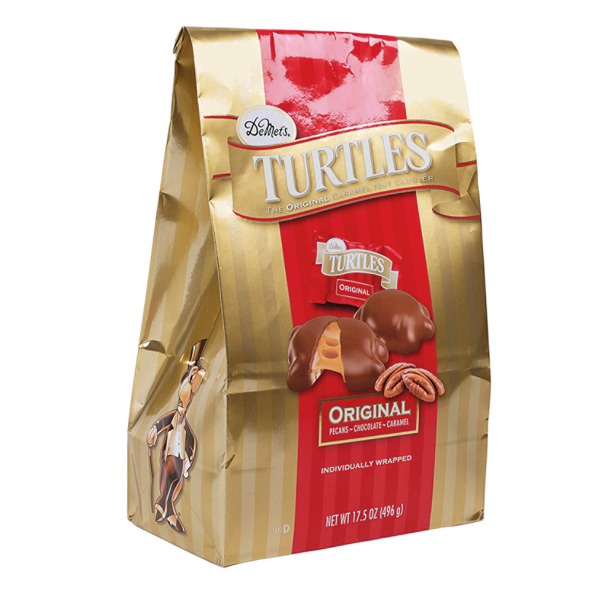 Demet's Original Turtles, 35 OZ (2.18 Pound)