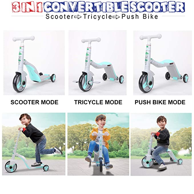 Amazon.com: Scooter - ¡Tutor! 3 en 1. Se convierte de ...
