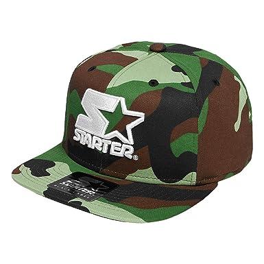 Starter - Gorra Icon Logo camuflaje camuflaje ajustable: Amazon.es ...