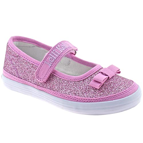b3ab87253a Lelli Kelly LK9300 (BM01) Lilla New Sprint Shimmer Ballerina Dolly Shoes-33  (UK 1) Pink: Amazon.co.uk: Shoes & Bags