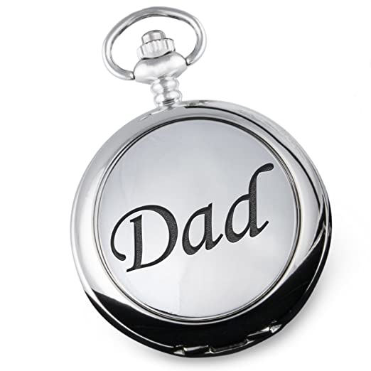Dad Pocket Watch Christmas Xmas Birthday Gifts Dads Retirement Fathers Day Gift