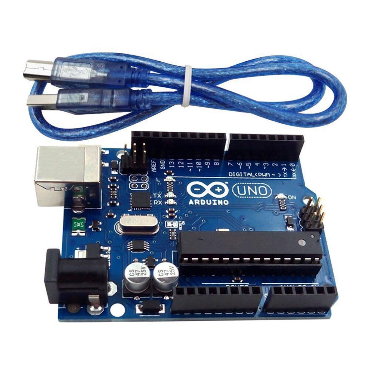 USDREAM UNO R3 Development Board Microcontroller USB Cable ATmega328P Arduino